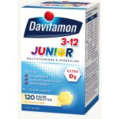 Davitamon Junior kauwtabletten banaan (vanaf 3 tot 12 jaar)