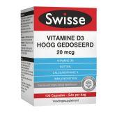 Geneesmiddelen Swisse Vitamine D3 capsules