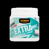 Jumbo Sugar free extra mint chewing gum
