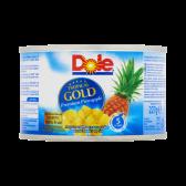 Dole Tropical gold ananaschunks op sap klein