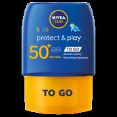 Nivea Sun protect and play sun milk for kids SPF 50 pocket size