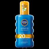 Nivea Sun protect and dry touch invisible 20 medium sun spray