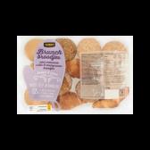 Jumbo Brunch broodjes mini croissants, witte & meergranen broodjes