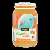 Jumbo Appel & perzik (vanaf 6 maanden)