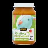 Jumbo Risotto & lentegroenten (vanaf 6 maanden)
