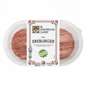De Vegetarische Slager Vegan ereburger (voor uw eigen risico, geen restitutie mogelijk)
