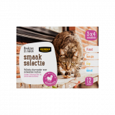 Jumbo Cat chunks in sauce taste selection (only available within Europe)