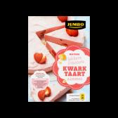 Jumbo Mix voor lekkere friszoete aardbei kwarktaart