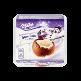 Milka Melkchocolade sneeuwballen
