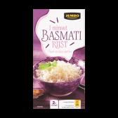 Jumbo 1 Minuut basmati rijst