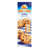 Cereal Gluten free and lactose free cookies with chocolate pieces