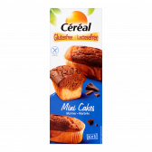 Cereal Gluten free and lactose free mini cakes marmer