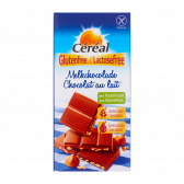Cereal Gluten free and lactose free milk chocolate with hazelnut bar