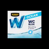Jumbo Toilet block ocean refill