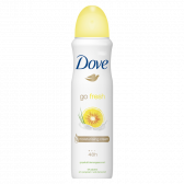 Dove Go fresh grapefruit deo spray large (only available within Europe)