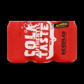 Jumbo Cola authentic taste regular 6-pack