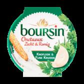 Boursin Zacht en romig knoflook en fijne kruiden
