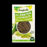 Bonduelle 100% Erwten & courgette pasta