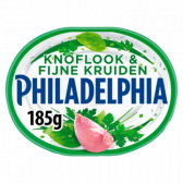 Philadelphia Knoflook en fijne kruiden (voor uw eigen risico, geen restitutie mogelijk)