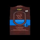Jumbo Lungo decafeinato espresso caps no 7