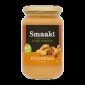 Smaakt Organic crunchy peanut butter