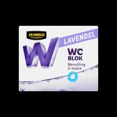 Jumbo Toilet block lavender refill