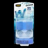 Jumbo Liquid toilet block ocean with refill