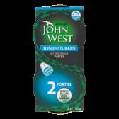 John West Tonijnstukken met een vleugje water 2-pack