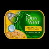John West Sardinefilets in zonnebloemolie