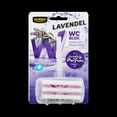 Jumbo Toilet block lavender