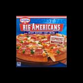 Dr. Oetker Big Americans pizza supreme (alleen beschikbaar binnen Europa)