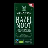 Jumbo Organic hazelnut dark chocolate bar