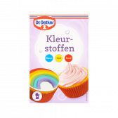 Dr. Oetker Colouring agent blue, yellow and red