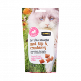 Jumbo Stuffed cat sweets with chicken and cranberry (only available within Europe)