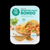 Jumbo Veggie chef vegetarische spinazie-kaas rondo (alleen beschikbaar binnen Europa)