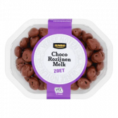 Jumbo Milk chocolate raisins
