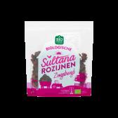 Jumbo Biologische sultana rozijnen zongedroogd