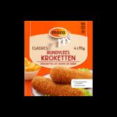 Mora Rundvleeskroketten (alleen beschikbaar binnen de EU)