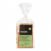 Smaakt Organic spelt and linseed crackers