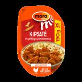 Mora Kipsate in pittige pindasaus XL (alleen beschikbaar binnen de EU)
