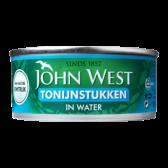 John West Tonijnstukken in water groot