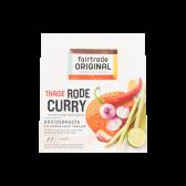 Fair Trade Original Thai red curry herb paste