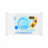 Jumbo Face cleansing tissues for the normal skin