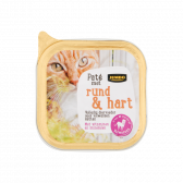 Jumbo Beef and heart pate for cats (only available within Europe)
