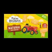 Farm Brothers Organic natural cookies