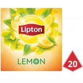 Lipton Citroen zwarte thee piramides