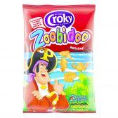 Croky Zoobidoo chips ketchup