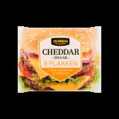 Jumbo Cheddar taste 45+ cheese slices