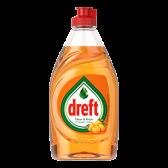 Dreft Clean & fresh afwasmiddel sinaasappel