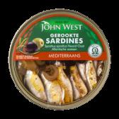 John West Mediterraanse gerookte sardines